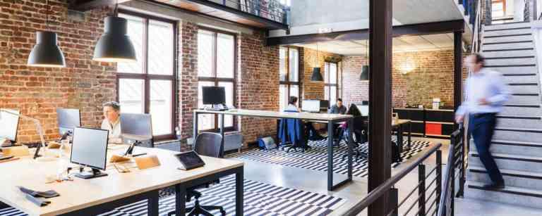 Büros der Digital Branding Agentur